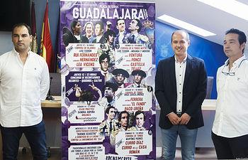 Presentación de la  Feria Taurina de 'LaAntigua' 2019; empresarios Álvaro Polo y Mariano Jiménez. Foto: ©JRopero