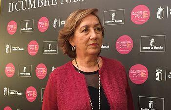 María Luisa Soriano en la II Cumbre Internacional del Vino.