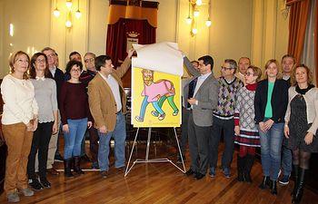 Presentación cartel oficial del Carnaval de Albacete 2017.