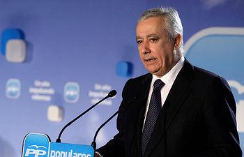 El vicesecretario de Política Autonomica y Local del PP, Javier Arenas