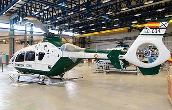 Instalaciones de Eurocopter en Albacete.