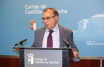Fernando Mora, presidente del grupo socialista.