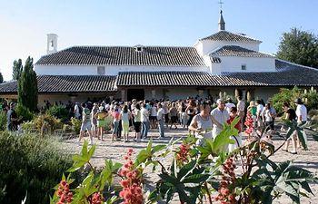 Ermita de Torre de Juan Abad (Ciudad Real). Foto de Archivo.