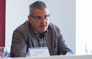 Abdón Catalán, gerente de Champinter