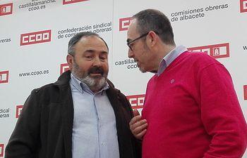 Paco de la Rosa y Carlos Pedrosa.