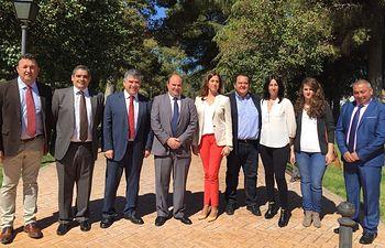Romero defiende las diputaciones en el acto del 17 aniversario de la independencia de Llanos de Caudillo