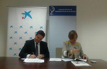 CaixaBank firma un acuerdo con el Colegio Oficial de Farmacéuticos en Albacete para impulsar el crédito al sector