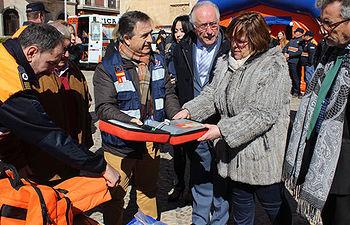 Las agrupaciones de Protección Civil de 34 municipios de Ciudad Real recibirán este año subvención para uniformes y medios materiales
