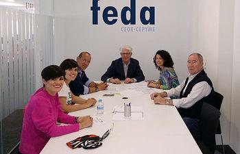 La Asociación de Industrias Agroalimentarias empieza a trabajar sobre la presencia de empresas de FEDA en la feria parisina SIAL 2018