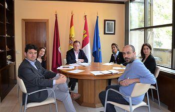 Reunión Junta de Portavoces.