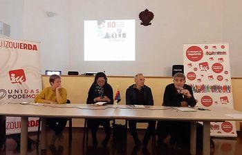 IU muestra su apoyo y solidaridad hacia el Gobierno legítimo de Bolivia.