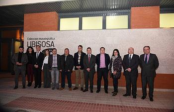 Inauguración del nuevo edificio del Ayuntamiento de Lezuza