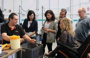 Ciudadanos Castilla-La Mancha visita las instalaciones y centro ocupacional de la asociación AMIAB en Albacete