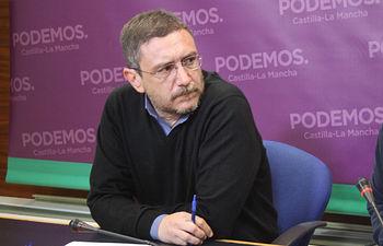 Francis Gil, secretario de Política de Podemos en Castilla-La Mancha