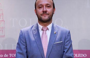Luis Miguel Núñez Gil, concejal en Toledo.