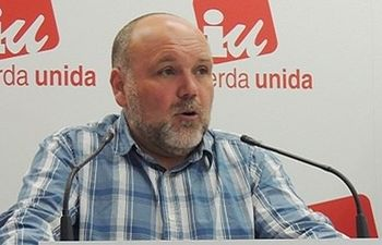 Mario García, Responsable de Comunicación de IU CLM.