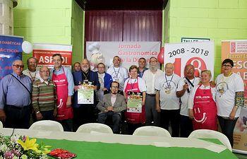 Jornada Gastronómica de la Diabetes organizada por la Asociación de Familias Diabéticas de Albacete (Asfadi)