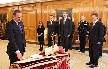 Alfonso Alonso toma posesión de su cargo como ministro de Sanidad, Servicios Sociales e Igualdad