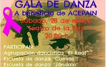 Cartel Gala ACEPAIN.