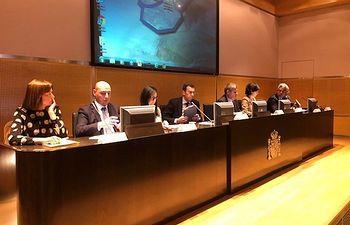 Consejo del Agua de la Confederación Hidrográfica del Tajo celebrado esta tarde en su sede de Madrid.