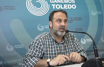 Javier Mateo, portavoz Ganemos Toledo.