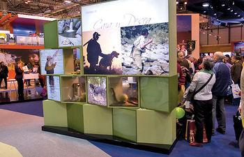 La Región está ganando cuota en el mercado turístico español. Foto: Stand FITUR 2008.