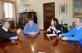 Reunión Subdelegación del Gobierno - ASAJA.