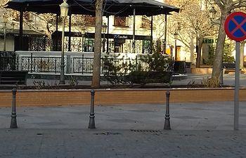 Plaza de la Constitución de Villarrubia de los Ojos.