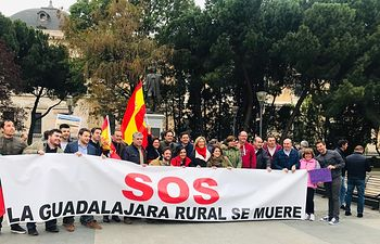Manifestación Mundo Rural España Vaciada