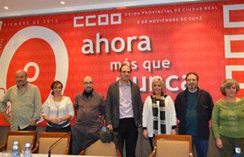 Nueva Ejecutiva de CCOO de Ciudad Real