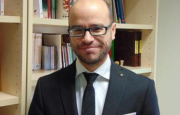 Darío Díaz, profesor de la Facultad de Medicina del Campus de Ciudad Real.