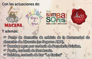 'Yo me pido vida' te anima a hacerte donante de médula este 17 de junio en El Altozano