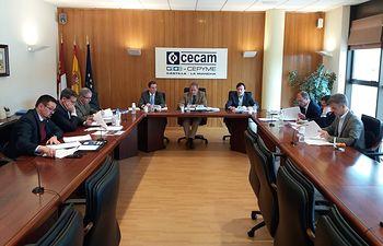 Reunión Comité Ejecutivo  CECAM.