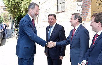 Acto conmemorativo del 40º aniversario de las primeras elecciones municipales democráticas, en la sede de la Federación Española de Municipios y Provincias.