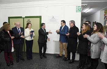 El presidente de Castilla-La Mancha, Emiliano García-Page, inaugura el nuevo Centro de Desarrollo Infantil y Atención Temprana de Alcaraz. (Fotos: José Ramón Márquez // JCCM)