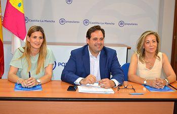 La reunión del Comité de Dirección Regional del PP.