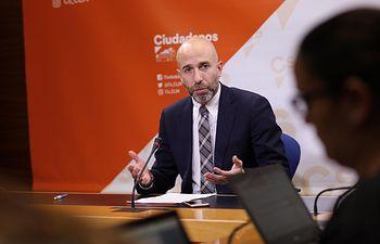 David Muñoz, diputado regional de Cs.