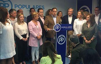 Paco Núñez ha mantenido una reunión con afiliados y cargos del PP de Ciudad Real