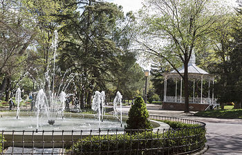 Fuente del Parque de la Concordia