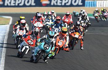 Moto3 en Jerez.