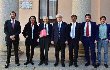 Organizadores y ponentes.  © Gabinete de Comunicación UCLM