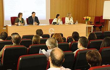 Jesús Hernández, en la XI Reunión de la Asociación Castellano-manchega de Análisis Clínicos