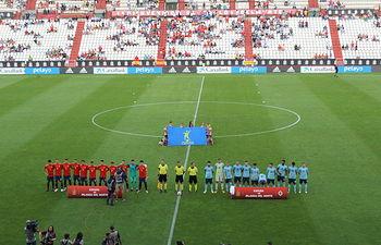 Encuentro entre la Selección Española Sub 21 e Irlanda del Norte