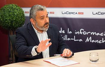 César García Arnal, coordinador regional de UPTA en Castilla-La Mancha.