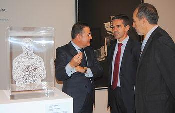 Javier Morales exposición Arte Contemporáneo en la colección Himalaya (2). Foto: JCCM.