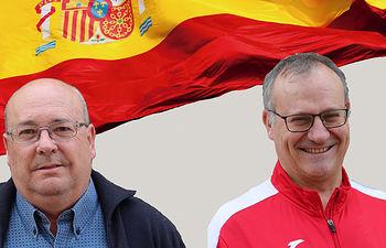 Ángel Salmerón (izquierda) y Juan Ramón Pardo (derecha).