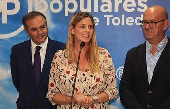 Carolina Agudo en el Comité de Dirección del PP de Toledo.