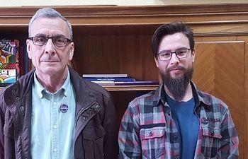 Daniel Mayoral y Manuel Prior.