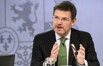 Rafael Catalá - Ministro de Justicia. Archivo.