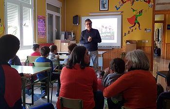 Sesión didáctica en Alcolea del Pinar.
